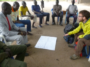 Partecipatory mapping in Bor